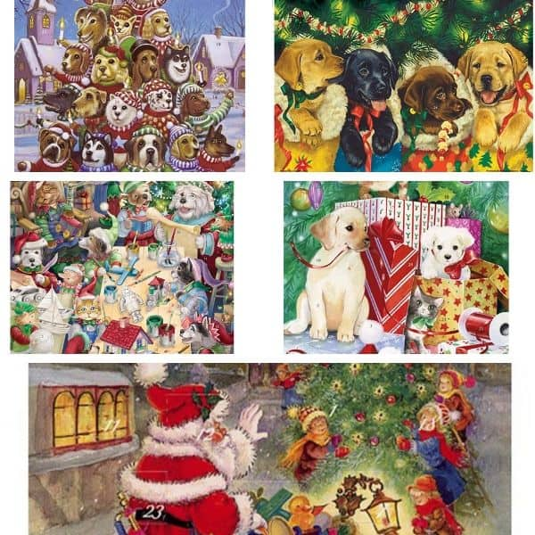 paper advent calendars for dogs