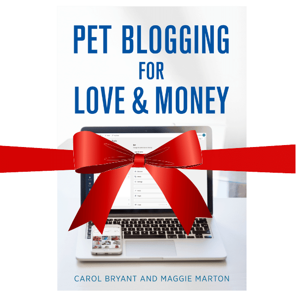 pet blogging gift book