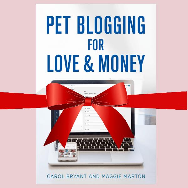 pet blogging gift book