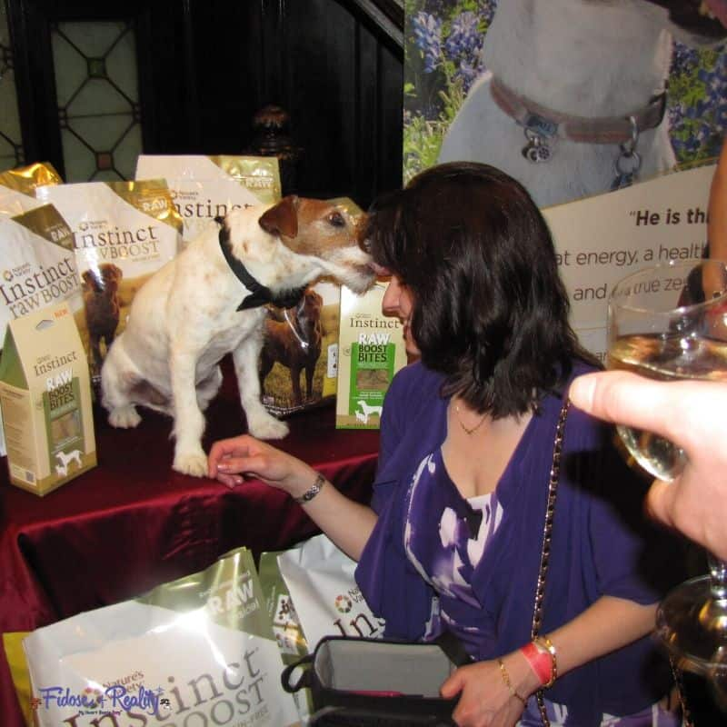 Meeting famous dog Uggie - Betty White Roast