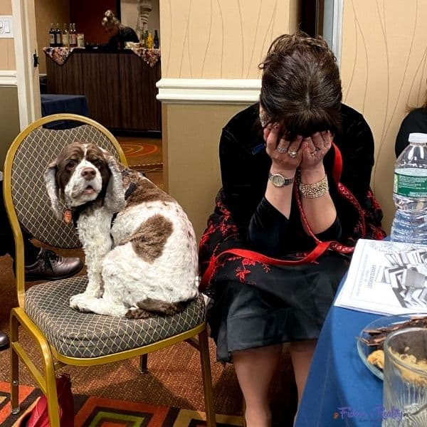 pet blogger at dog writers awards